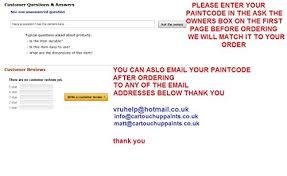 mazda car spray paint 400ml colour match aerosol amazon co uk