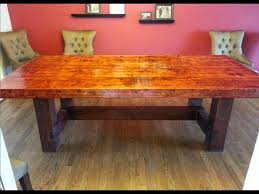 homemade dining room table diy dining table set best model home homemade dining room table do it yourself dining room table youtube best decoration