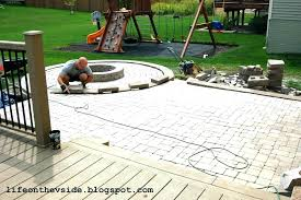 How To Lay Pavers For Patio Bright Ideas Brick Patio Installation Gorgeous Paver Patios