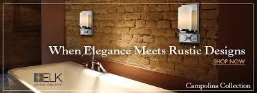 Elk Bathroom Lighting Bathroom Lighting U0026 Accessories Vanity Lights Exhaust Fans And More