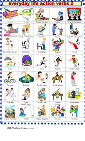 Action Linking Verbs Worksheet 131 Best Daily Activities Images On Pinterest English Grammar
