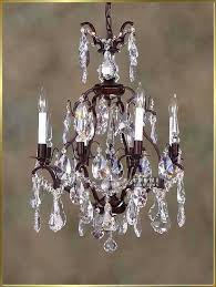 Iron Chandelier With Crystals 90 Best Wrought Iron Chandeliers Images On Pinterest Wrought