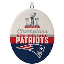 2017 bowl new patriots hallmark keepsake ornament