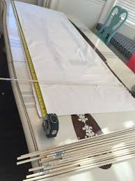 Making Roman Blinds Diy Roman Shades Tutorial All Things Thrifty