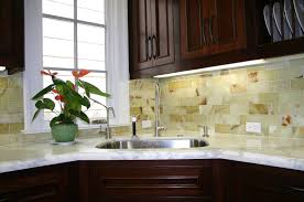 granite countertop under cabinet led lights faux backsplash