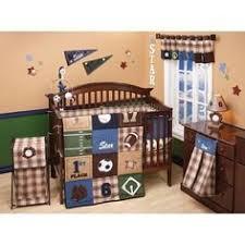 Sport Crib Bedding Teddy Sports Crib Bedding Blue Green And Baby Bedding