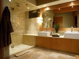 Modern Bathroom Lighting A Modern Bathroom In A Light Color - Lights bathroom