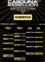 black friday times 2017 complete 2017 carolina rebellion set times and lineup axs