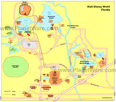 Disney World Florida Map by World Florida Map