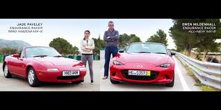 brand new mazda the new mazda mx 5 miata vs its old self motrolix