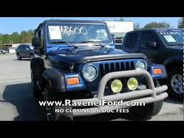 jeep wrangler tj rubicon for sale 2003 jeep wrangler review tj x 4x4 for sale ravenel ford
