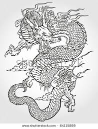 dragon tattoo stock images royalty free images u0026 vectors