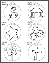 printable tree ornaments coloring pages disciples of jesus