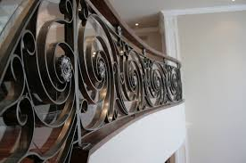 Decorative Iron Railing Panels Wrought Iron Railing With Panels Indoor For Stairs Ocean