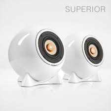 ball speaker superior white ugly or cool loudspeaker