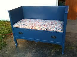 Bench Made From Old Dresser Best 25 Dresser Bench Ideas On Pinterest Dresser Repurposed