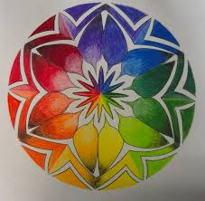 11 Color Wheel Mandala Images Mandalas Color
