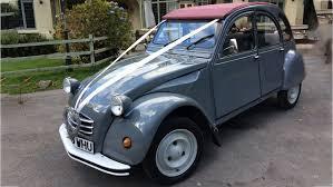 vintage citroen cars classic wedding car hire in devon premier carriage wedding cars