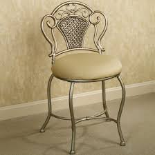 Vanity Chair For Bathroom by Bathroom Vanity Chairs With Backs Home Design Ideas