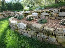 Garden Wall by Limestone Garden Wall