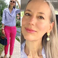 preppy for women over 50 video classic preppy fashion style over 40 50 blue and white