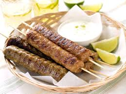 cuisine kebab spicy kebab recipe with yogurt sauce and pita breads my