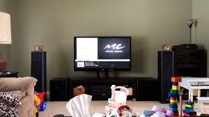 bic acoustech pl 89 home theater system bic dv64 modded by efe technology youtube
