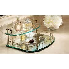 tips vanity mirror tray vanity tray mirrored bathroom tray