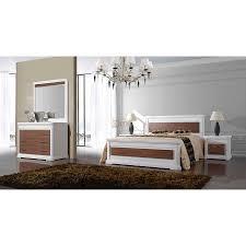 meuble elmo chambre chambre adulte laque blanc et bois louisiane meubles elmo