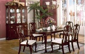 Traditional Dining Room Furniture Sets Amusing Traditional Cherry Dining Room Set 8067 In Chairs