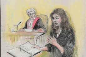 tulisa copied nigella u0027s courtroom demeanour u0027 says sketch artist