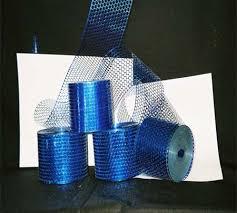 honeycomb ribbon royal blue honeycomb ribbon