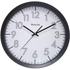 westclox vintage kitchen wall clock 32041aw walmart com