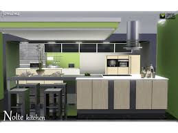 cuisine sims 3 jomsims nolte kitchen