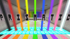 minecraft 1 9 colour co ordinated puzzle map prismatic youtube