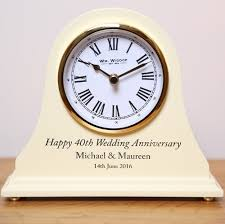 anniversary clocks engraved 50th wedding anniversary gifts engraved 50th wedding anniversary