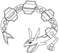 mega pokemon rayquaza coloring pages teacher pinterest
