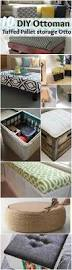 Diy Tufted Storage Ottoman by Diy Storage Ottoman Ideas From Recycle Crates And Pallets Diy