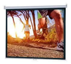 retractable home theater screen projector screen 120