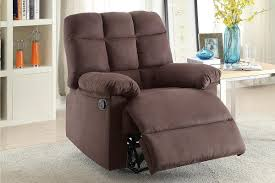 Fabric Recliner Chair Brown Fabric Reclining Chair A Sofa Furniture Outlet Los