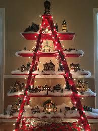 mom u0027s christmas village display simply beautiful christmas