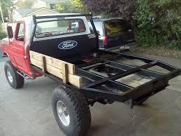 i want a custom flatbed for my truck fabricators look inside
