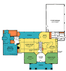southern style house plan 4 beds 3 50 baths 3270 sq ft plan 20 341