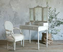 French Powder Room Vanity Dressing Table With Mirror French Bathroom Faucets Country