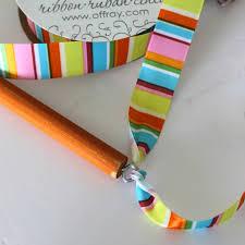 ribbon wands offray diy ribbon wands