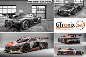 renault rs 01 gtronix team mcchip dkr starts with a renault r s 01 gt3 in the