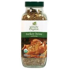 turkey brine mix simply organic turkey brine seasoning 14 1 oz simply organic