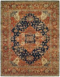 Rust Area Rug Allara Tania An 1005 Navy Rust Area Rug Pertaining To Colored Rugs