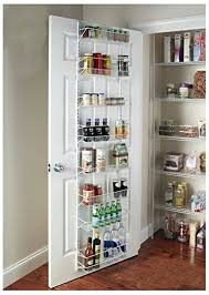 kitchen cabinet organizers amazon amazon com g r gracelove over the door spice rack wall mount pantry