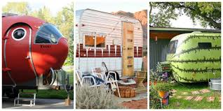 quirky trailers and airstreams vintage trailer decorating ideas